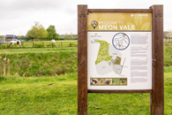 meon-vale-long-marston-welcome-to-meon-vale-sign